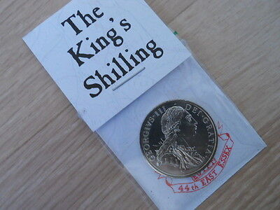Imitation George III Coin - The King's Shilling