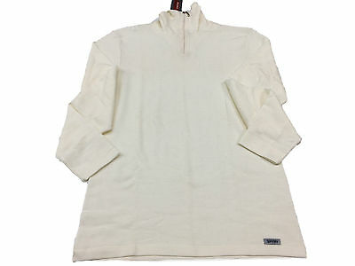 RAGNO T-shirts intimate with zip long sleeve white art.06259K 85 % wool