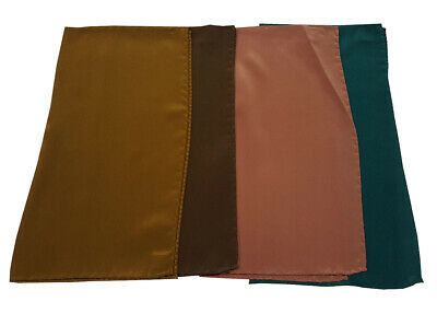POCHETTE man 4 pcs assorted 100 %silk MADE IN ITALY