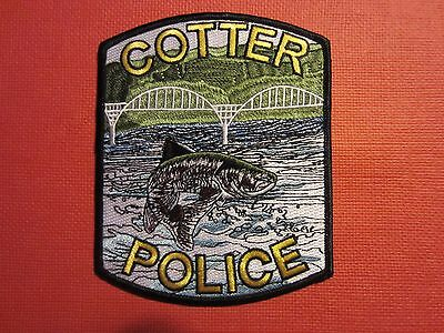 Collectible Arkansas Police Patch Cotter New