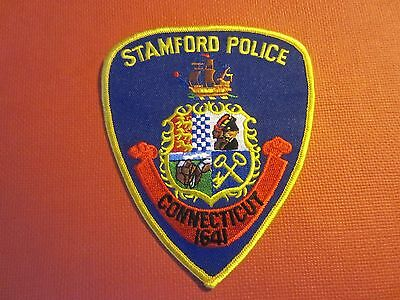 Collectible Connecticut Police Patch Stamford New