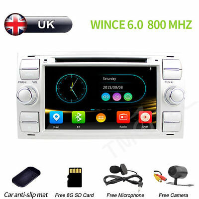 Car GPS Navigation sat nav 3G for FORD FOCUS Mondeo CMAX Gar DVD player Radio UK