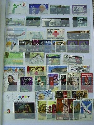 Malta Used Stamps Selection