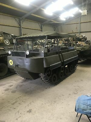 Atkinson Alligator Rare Tracked Military Vehicle 1946