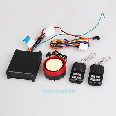 Motorcycle Safety Security Vibration Sensor Alarm Electric with 2Remote Control