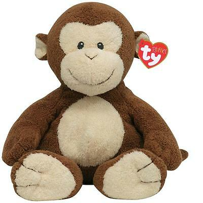 Ty Beanie Babies 03226 Pluffies Dangles the Monkey