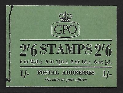 F16 2/6 GPO booklet - April 1954 UNMOUNTED MINT/MNH