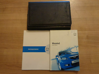 Mazda 2 Owners Handbook Manual and Pack 03-07