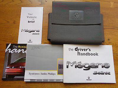 Renault Scenic Owners Handbook/Manual and Pack 95-98