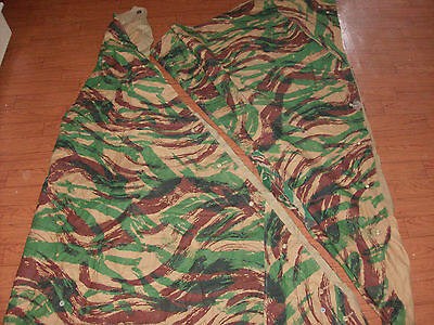 Military French Foreign Legion Lizard Camouflage Tent Poncho 2 Shelter Halves