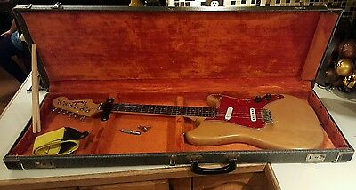RARE 1964 Fender Duo Sonic Electric Guitar Pre CBS W/ Hard Case, FREE SHIPPING!!