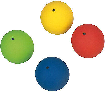 Primary Throwing Sports Soft PVC Durable Indoor Shot Puts Set Of 4 Colours
