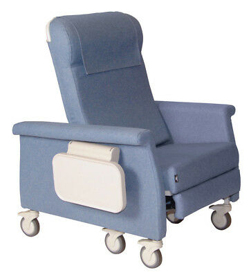 Extra Large Elite Care Recliner with Swing Away Arms Blue Ridge Heat
