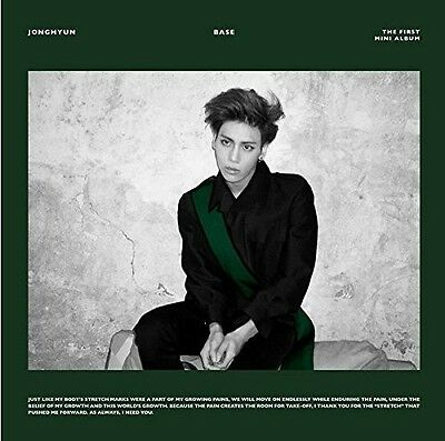 Jonghyun - Base (1st Mini Album) [New CD] Asia - Import