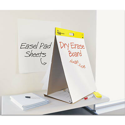 Dry Erase Tabletop Easel Unruled Pad, 20 x 23, White, 20 Sheets 563-DE