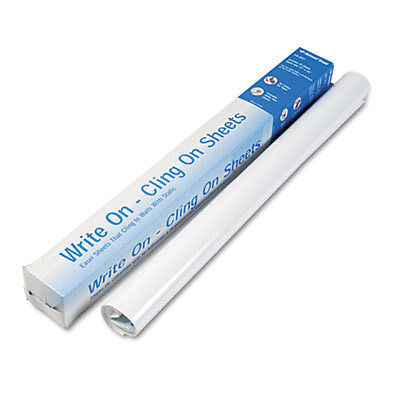 Write On Cling On Easel Pad, Unruled, 27 x 34, White, 35 Sheets 24-391