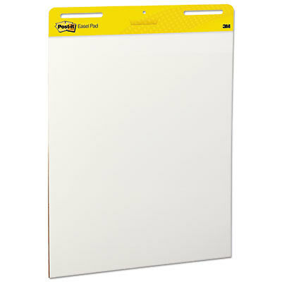Self Stick Easel Pads, 25 x 30, White, 2 30 Sheet Pads/Carton 559
