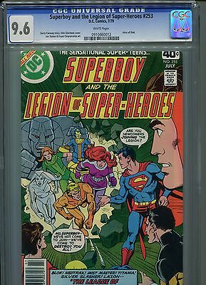 Superboy #253 CGC 9.6 (1979) & Legion of Super-Heroes 1st First Blok White Pages