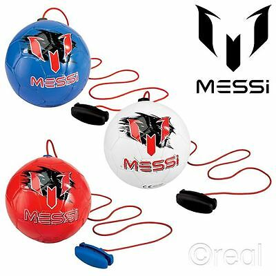 New Red, White Or Blue Lionel Messi Training Balls Football Soccer Game Official