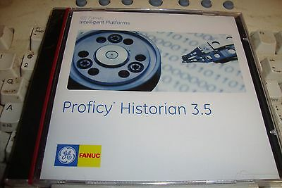 New Ge Fanuc Proficy Historian 3.5 Software