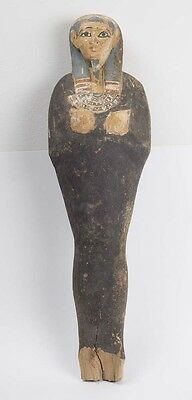 Ancient Egyptian Wood Figure of Ptah Soker Osiris late Period c.620 BC.