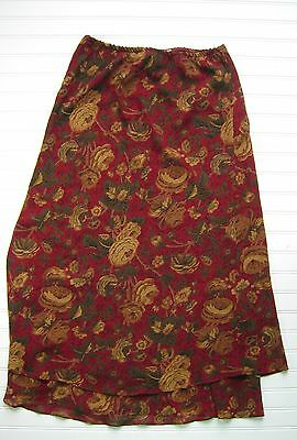 Mumsies Used Maternity Floral Maxi Skirt Large