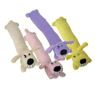 Multipet Loofa Dog Award Winning Toy allongée peluche Squeakers Mini 6Inch