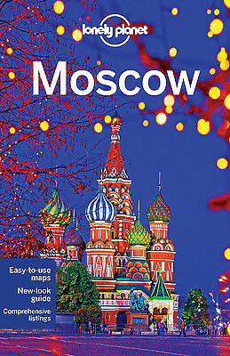 Lonely Planet MOSCOW 6 (Travel Guide) - BRAND NEW PAPERBACK
