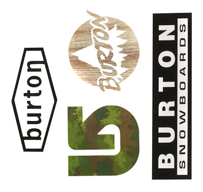 Burton Throwback Sticker
