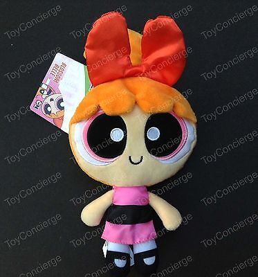 "The POWERPUFF GIRLS 8"" Inch PLUSH Doll BLOSSOM Figure PINK Dress NWT"