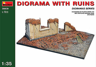 Diorama with Ruins      1/35 MiniArt   # 36039