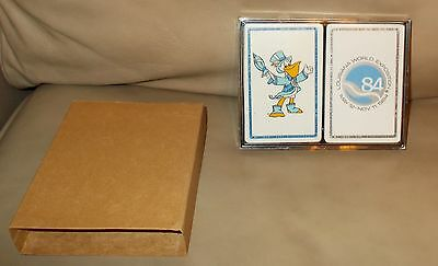 1983 New Orleans World's Fair  2 decks of sealed playing cards