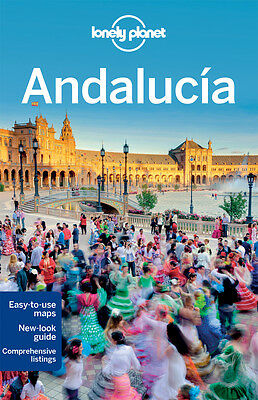 Lonely Planet ANDALUCIA 8 (Travel Guide) - BRAND NEW PAPERBACK
