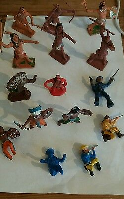 Vintage toy soldier indians/cowboys  1x lone star