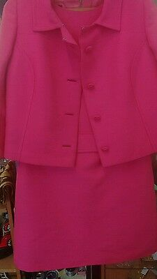 Vintage Ladies peggy french couture suit.