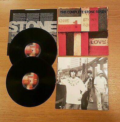 The Complete Stone Roses orginal Double LP 1995 ORE 535 in EX/EX condition