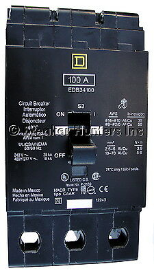Square D EDB34020 - Certified Reconditioned