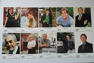 Eastenders Bundle 1990s Unsigned Cast Cards