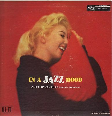 Charlie Ventura In A Jazz Mood Verve Vinyl LP