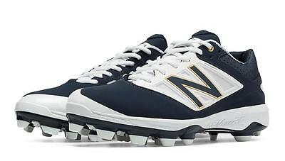 New Balance L4040v3 Molded Baseball Cleats - Navy - PL4040N3