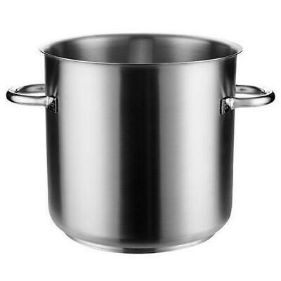 Stockpot w No Lid, 24L, Stainless Steel, Pujadas 'Top Line', Stock Pot Cooking