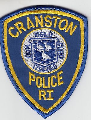 Cranston Rhode Island Police Patch