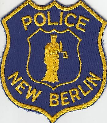 New Berlin Wisconsin Wi Police Shoulder Patch