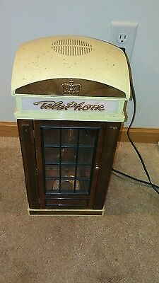 Vintage London Telephone Box Booth  Phone Booth Decor working spirit of st louis