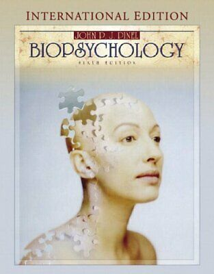 Biopsychology by Pinel, John P. J. Paperback Book The Cheap Fast Free Post