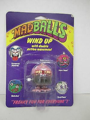 "1986 MAD BALLS - ""HORN HEAD"" Wind Up with Double Action Movement -"