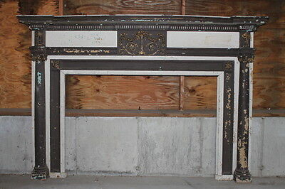 Large Adams/Federal Style Fireplace Mantel Mantle from Boston Home Urn Swags...