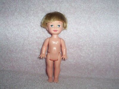 Mattel 1994 Barbie Kelly Brother Tommy Doll Blonde Hair Gray Eyes Nude VGC