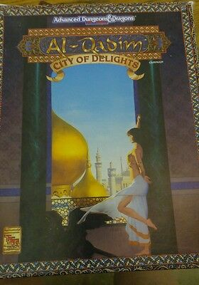 1993 Advanced Dungeons & Dragons Al-Qadim City Of Delights 2nd Edition # 1091
