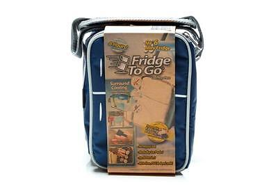 Fridge to Go Mini Fridge 6 Navy